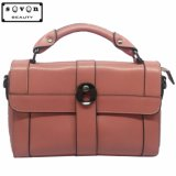 Designer Promotion Fashion Colorful PU Leather Cheap Women Tote Handbag (QM-0710-3#)