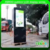 Waterproof Floor Standing Design Digital LCD Signage Player