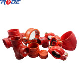 Ductile Iron Grooved Rigid/Flexible Couplings and Pipe Fittings UL/FM Approved