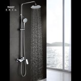 Mandelwaterfall Bathroom Shower Faucet/Mixer/Tap Three Functions Shower Set with Headshower and Handshower