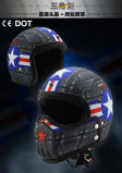 2017 New Design Half Face Motorcycle Helmets with Many Kinds Parts