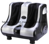 Kneading Shiatsu Rolling Vibration Heating Foot Calf Leg Massager Silver Color
