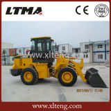 2 Ton Wholesale Backhoe Wheel Loader with Cummins Engine