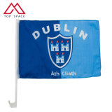 43cm Stiff Economy Decorative Dublin Cheap Custom Car Flags
