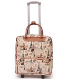 Travel Fashion Trolley Tote Handbags Wheeled Rolling Bag Luggage