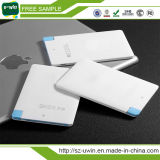 Credit Card Mobile Power Bank 2200mAh with CE, RoHS, FCC