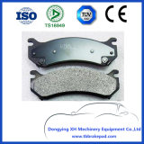 Silverado Low Noise Semi Metallic Painted Plastic Front Brake Pad for Chevrolet D1565