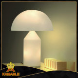 Modern Hotel Room White Glass Table Lamps (621T2)