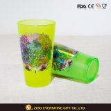 480ml Black Light Pint Glass with Foil Decal
