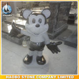 Granite Mickey Mouse Shape Headstone