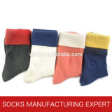 Women′s Comb Cotton Sock (UB-142)