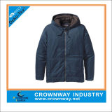 Warm Blue Sport Hood Paded Jacket for Men