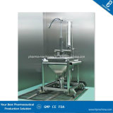 Pharma Single Column Lifting and Cleaning Station for Bin and Drum