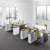 Office Furniture, Modular Table with Mobile Return Cabinet