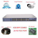 Port Poe Switch 24 Ports with 4 Giga Tx/SFP Combo Port (TS3224G-330)