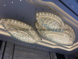 The Ice Glass Chandelier for Wyndham Hotel[Celling Case]