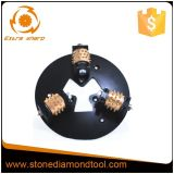 Diamond Bush Hammer Disc, Rollers Rotary Bush Hammer for Concrete