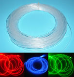 1.5mm Side Glow Fiber Cable Optic Cable Side Emitting Guiding Cable Light 100 Meters Per Roll