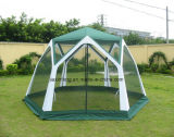 Big Outdoor Folding Family Mesh Tent