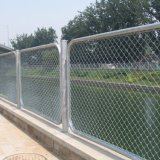 Galvanized Security Protection Mesh Chain Link Fence