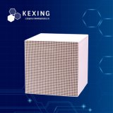 85 Corundum Honeycomb Ceramic Substrate 150X150X150mm 40 Cell Dimension Cell Number and Shape Customizable