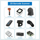 USB PS2 RS232 Bluetooth Laser CCD CMOS 1D 2D Qr Code Portable Handheld Barcode Scanner