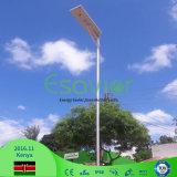 Ce RoHS TUV Certificates IP66 Waterproof 80W Solar Powered Camera Microwave Sensor LED Solar Street Lighting Outdoor Solar Road Light