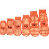 Custom High Quality Trampoline Socks Anti Slip Jump Polyester Cotton Socks