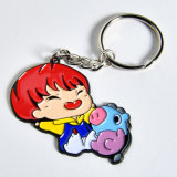 Wholesale Personalized Metal Key Ring Kpop Bts Member New Pendant Zinc Alloy Cartoon Charm Keychain