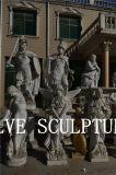 Church Decoration Religious Marble Stone Angel Statue Sculptures Price Mfsg-113