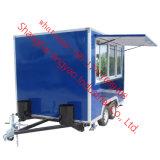 Best-Selling OEM Design Mobile Food Trucks/Snack Food Trailer/ Outdoor Street Mobile Food Cart Customized Color Food Cart Outdoor Street Food Kiosk Cart