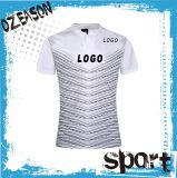 Customized 100% Polyester Men's Plain Sublimation Rugby Shirt (R019)