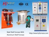 CE Approved 1.25 Ton Induction Furnace