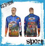 Wholesale Cheap OEM Custom Long Sleeve Subliamtion Fishing Shirt