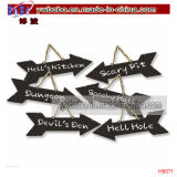 Outdoor Sign Party Signs Decorations Best Halloween Party Supply (H8071)