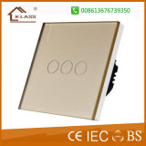 High Quality Hotel Lighting Control Glass Panel Touch Switch Factory