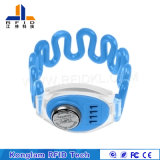 Customized Silk Screen RFID Silicone Wristband for Postal Services