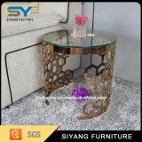 Occasional Furniture Scandinavian Gold Side Table Flower Stand End Table