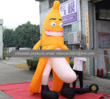 Large Inflatable Banana Man for Ads with Certificates