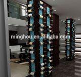 Factory Wholesale Coating Aluminum Wine Peg Rack for Sale