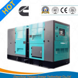 Low Noise 250kw Electric Diesel Genset with 12hours Fuel Tank