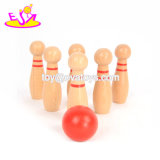 Best Sale Kids Wooden Mini Bowling Game for Fun W01A303