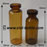 Tubular Brown Serum Glass Vial Bottle