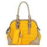 Vintage Yellow Fashion Woman Handbags and Purse (MBLX031076)
