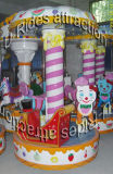 Electric Play Equipment Mechanical Carousel Game for Kids