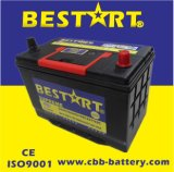 12V75ah Premium Quality Bestart Mf Vehicle Battery JIS 75D31L-Mf