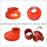 Ductile Iron Grooved Fitting Concentric Reducer with FM/UL/Ce