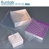 1ml to 2ml Cryovial Tube Storage Boxes with 81 Wells