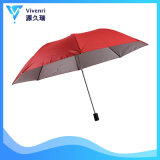 Folding Red Manual Open and Close Advertising Promotion Umbrella