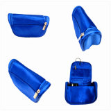 Custom Cosmetic Leather Bag Cotton Amenity Bag for Airline